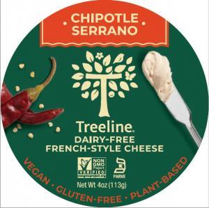 Treeline Chipotle Serrano Spread Plant-Based Cheese