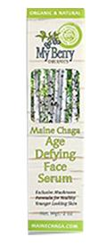 My Berry Organics Maine Chaga Age Defying Face Serum