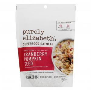 Purely Elizabeth Cranberry Pumpkin Seeds Oatmeal Gluten Free