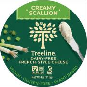 Treeline Creamy Scallion Spread Plant-Based Cheese