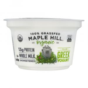 Maple Hill Organic Plain Greek Yogurt