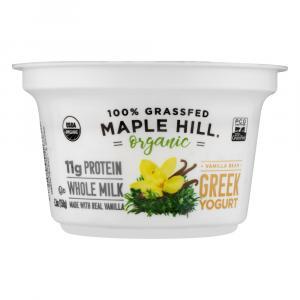 Maple Hill Organic Vanilla Greek Yogurt