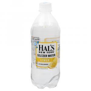 Hals New York Seltzer Water Lemon