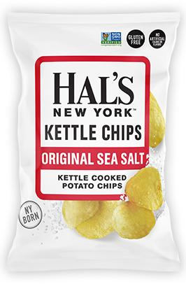 Hal's Kettle Chips Original Sea Salt