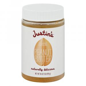 Justin's Gluten Free Classic Peanut Butter