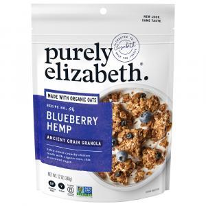 Purely Elizabeth Ancient Grain Blueberry Hemp Granola