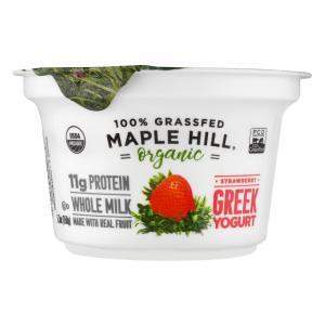 Maple Hill Organic Strawberry Greek Yogurt
