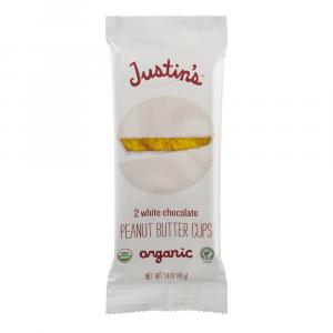 Justin's Organic 2 White Chocolate Peanut Butter Cups