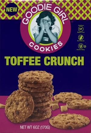 Goodie Girl Gluten Free Toffee Chaos Cookies