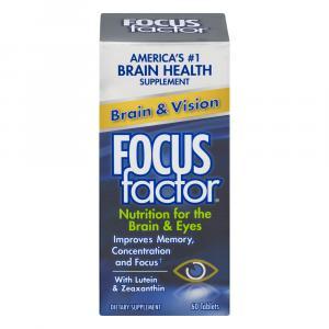 Focus Factor Brain & Vision Dietary Supplement