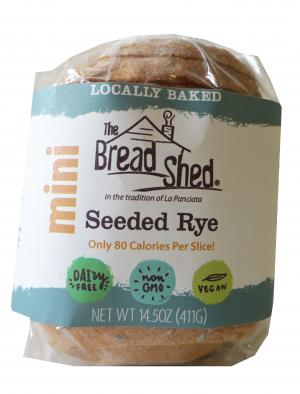 The Bread Shed Mini Seeded Rye