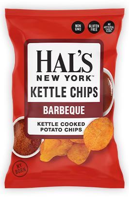Hal's Kettle Chips Barbeque