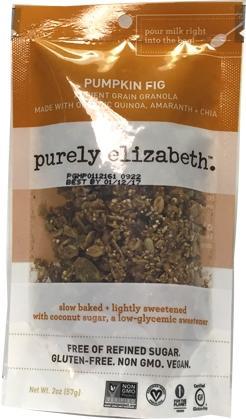 Purely Elizabeth Pumpkin Fig Granola Mini Bag