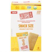 Perfect Bar Organic Peanut Butter Bars Snack Size