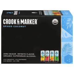 Crook & Marker Spiked Sparkling Coconut Variety Pack