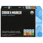 Crook & Marker Spiked Sparkling Coconut Variety Pack