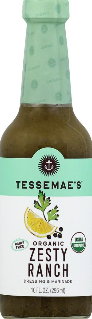 Tessemae's Organic All Natural Zesty Ranch Dressing