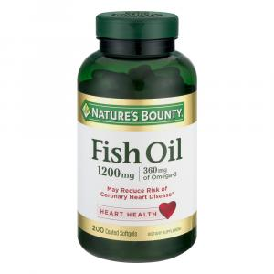 Nature's Bounty Odor-less Fish Oil 1200 Mg Softgels Value