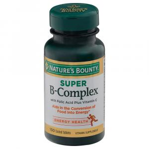 Nature's Bounty Super B-Complex + Vitamin C Caps