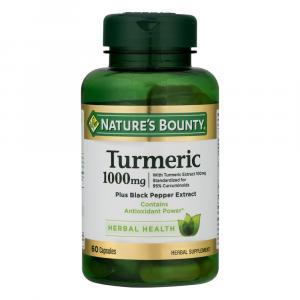 Nature's Bounty Turmeric 1000mg Capsules