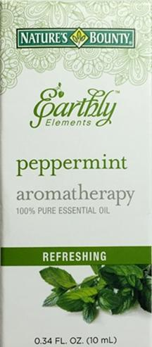 Nature's Bounty Earthly Elements Peppermint Aromatherapy
