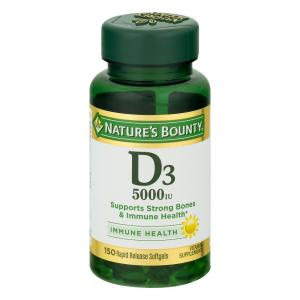 Nature's Bounty D3-5000IU Softgels