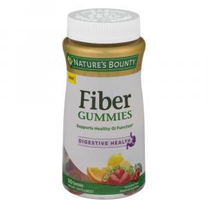 Nature's Bounty Fiber & Digestive Health Gummies