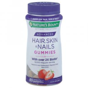 Nature's Bounty Hair, Skin, & Nails Strawberry Gummies