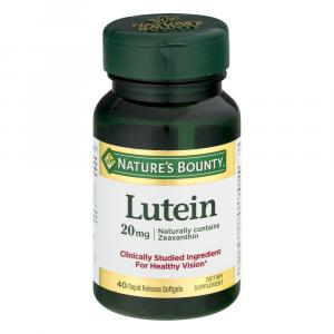 Nature's Bounty Lutein 20mg Softgels