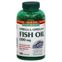 Nature's Bounty Fish Oil 1200 mg Softgels Value Size