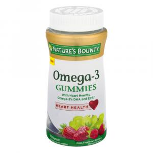 Nature's Bounty Omega-3 Gummies