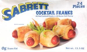 Sabrett Cocktail Franks