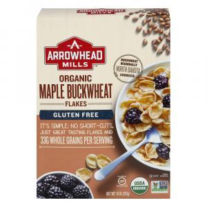 Arrowhead Mills Organic Gluten Free Maple Buckwheat Flakes