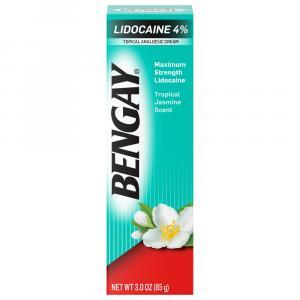 Bengay Lidocaine 4% Maximum Strength Cream