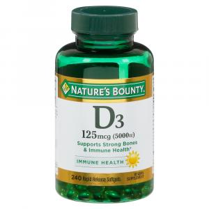 Nature's Bounty D3 5000IU