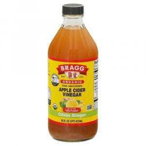 Bragg Organic Citrus Ginger Apple Cider Vinegar