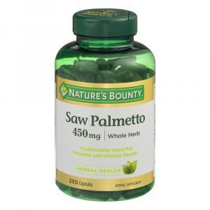 Nature's Bounty Saw Palmetto 450 Mg