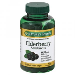 Nature's Bounty Sambucus Elderberry
