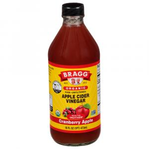 Bragg Organic Cranberry Apple Cider Vinegar