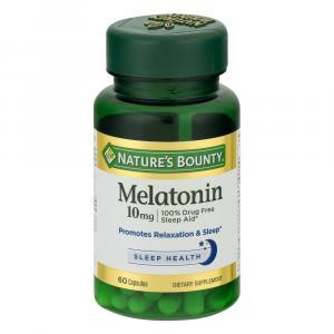 Nature's Bounty Maximum Strength Melatonin 10 mg