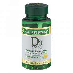 Nature's Bounty Vitamin D3 1000 I.U. Tablets