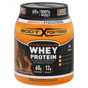 Body Fortress Super Advanced Whey Protein Chocolate Peanut B