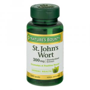 Nature's Bounty St. John's Wort 300 mg Softgels