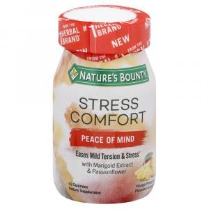 Nature's Bounty Stress Comfort Peace of Mind Gummies