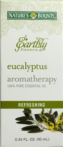 Nature's Bounty Earthly Elements Eucalyptus Aromatherapy