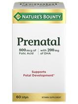 Nature's Bounty Multivitamin Prenatal