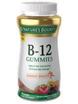 Nature's Bounty B-12 Gummies