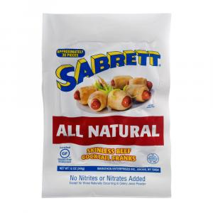 Sabrett All Natural Skinless Beef Cocktail Franks
