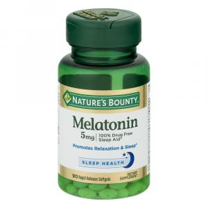 Nature's Bounty Super Strength Melatonin 5 mg Tablets