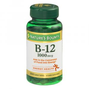 Nature's Bounty B-12 1000MCG Tablets